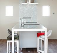 立体的な三層設計で空間を有効活用
